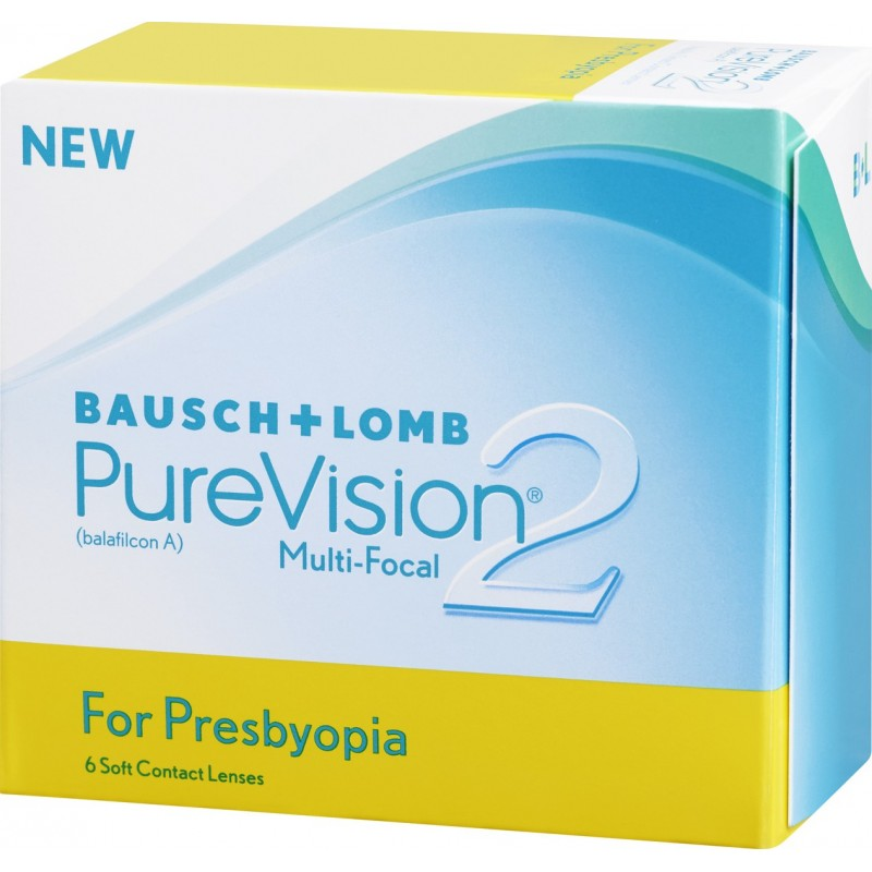 bffdc894d3 (6 pack) Πολυεστιακοί Φακοί Επαφής Πρεσβυωπίας Purevision 2 CL0038